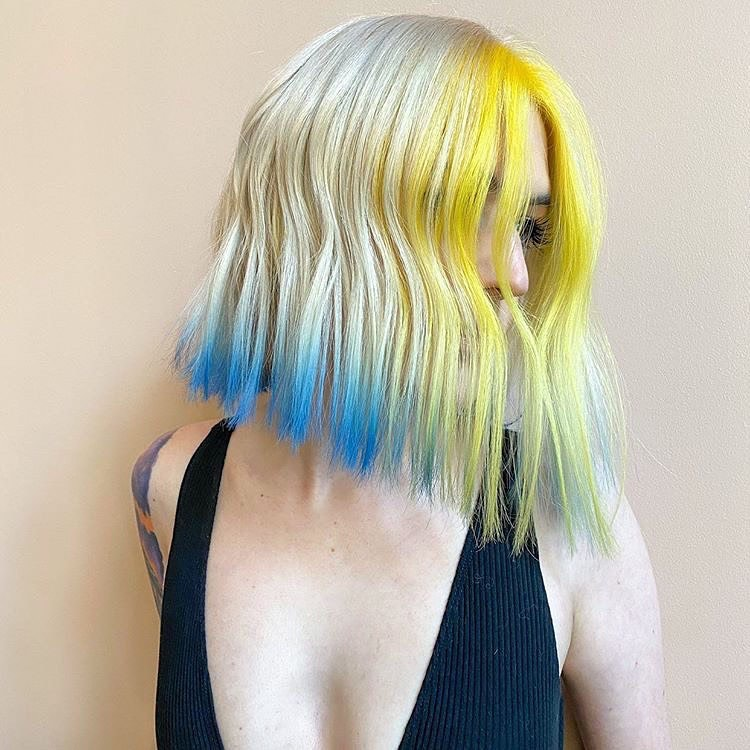Kadınlar için İlham Veren Lob Saç Stili - 2021 Lob Saç Kesimi ve Saç Modeli Fikirleri
