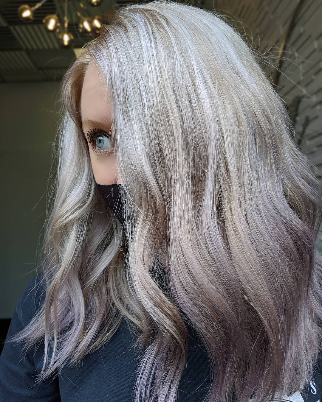 Kadınlar için Pretty Orta Uzun Saç Modelleri 2021 - orta Uzun Saç Rengi