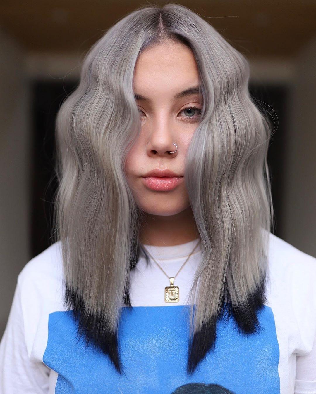 Ziemlich mittellange Haarschnitte für Frauen 2021 - mittellange Haarfarbe