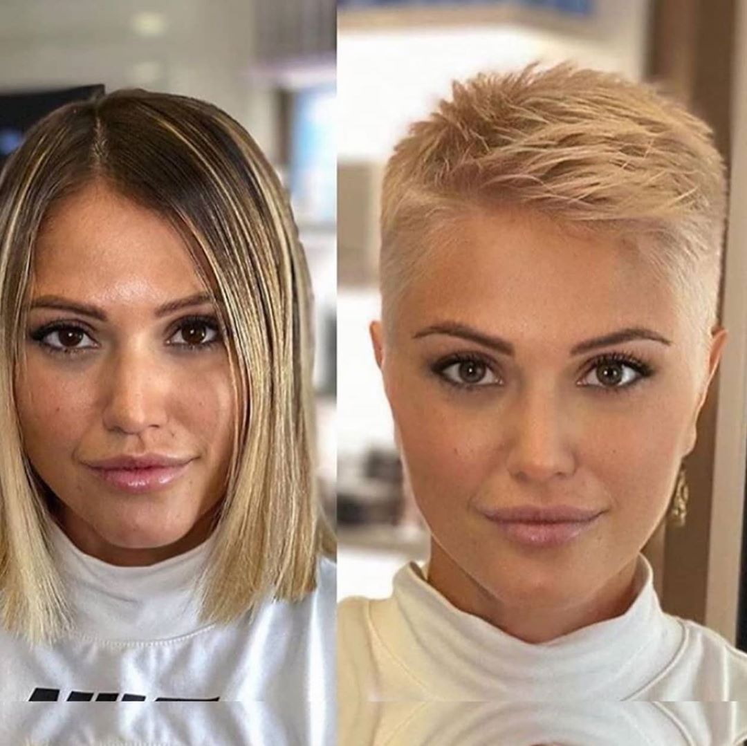 Stylish Short Haircuts for Thick Hair - Women Short Hairstyles Trending in 2021