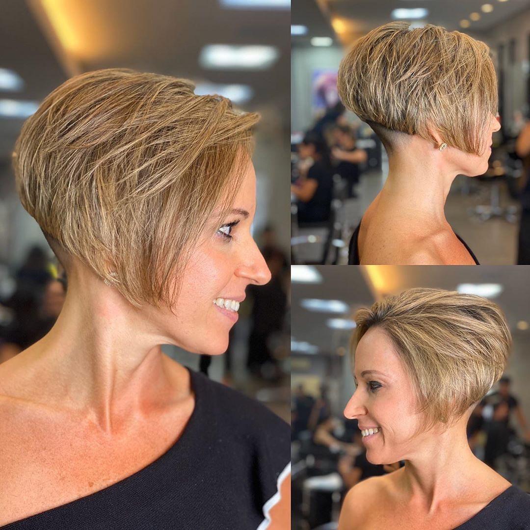 Stilvolle Kurzhaarschnitte für dickes Haar - Frauen-Kurzhaarfrisuren im Trend im Jahr 2021