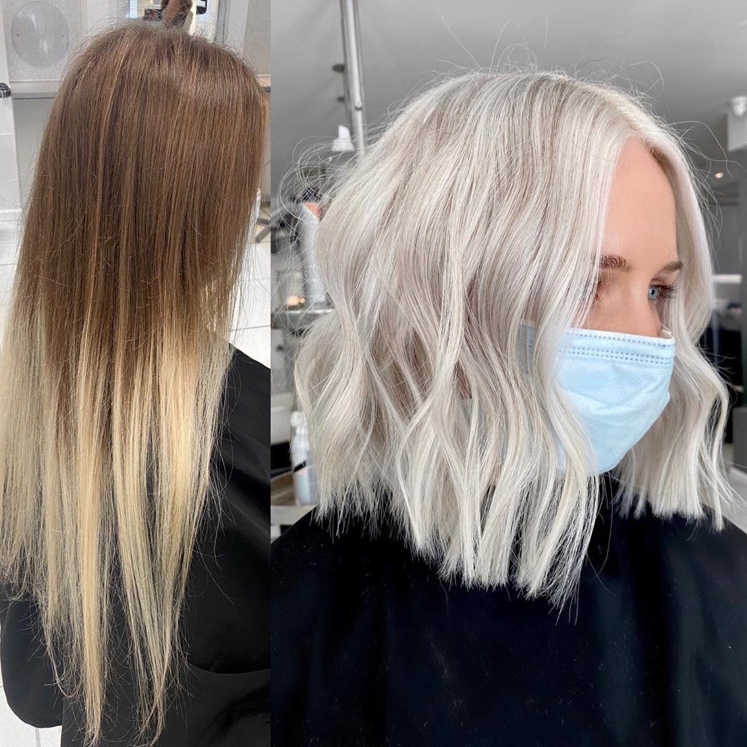 Women Shoulder Length Hair Cut Designs - Meidum Haircut and Hairstyle Ideas of 2021