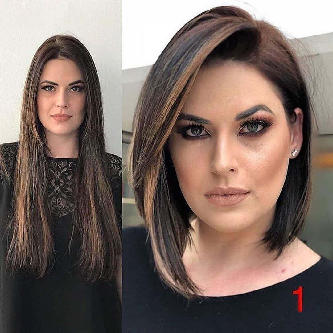 Einfacher gerader Bob-Haarschnitt für kurzes Haar - Bob-Frisuren und Haarschnitte für Frauen 2021