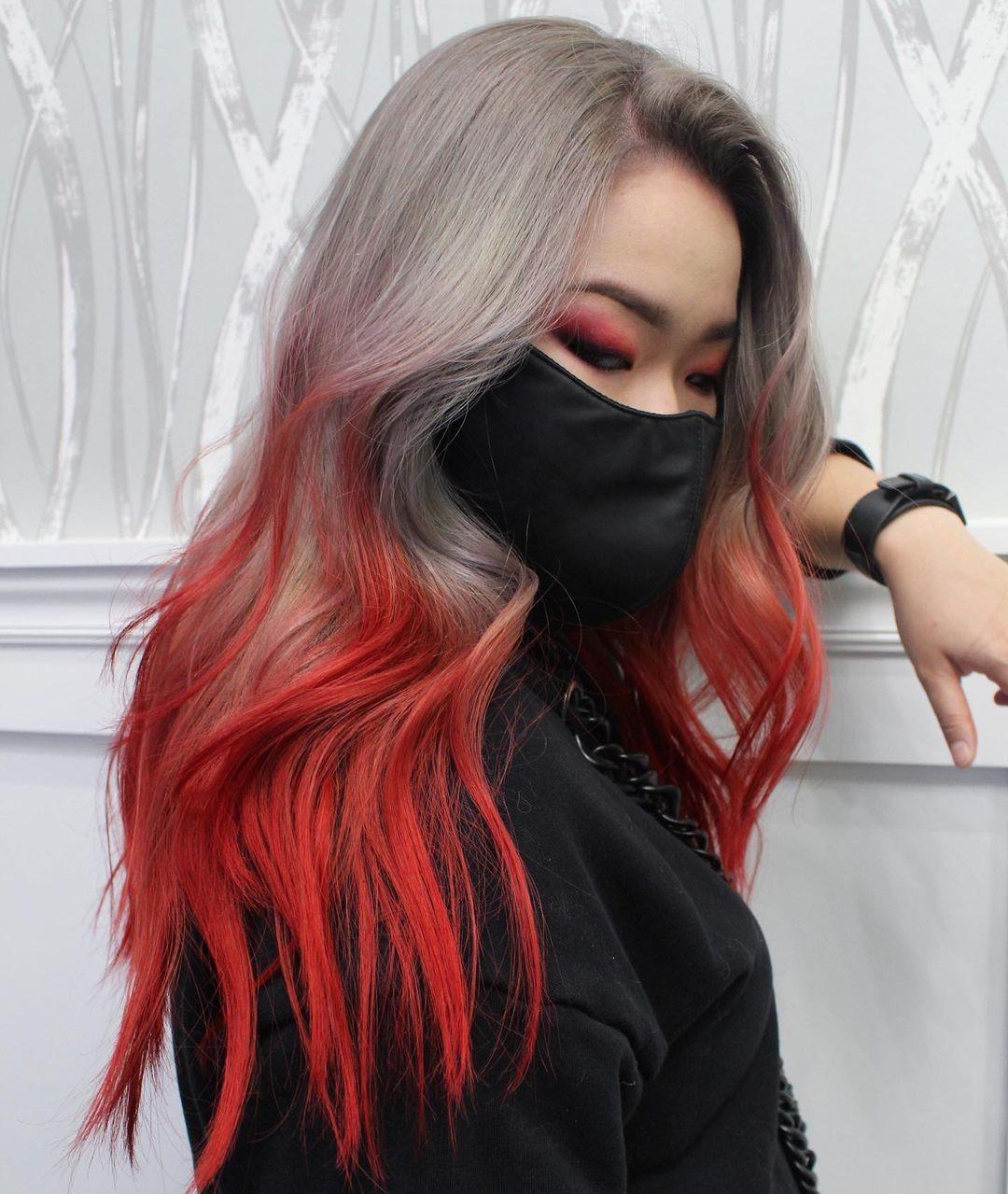 Uzun Saç Rengi Tasarım Fikirleri - Uzun Saç Modelleri ve Saç Kesimi 2021 -2022