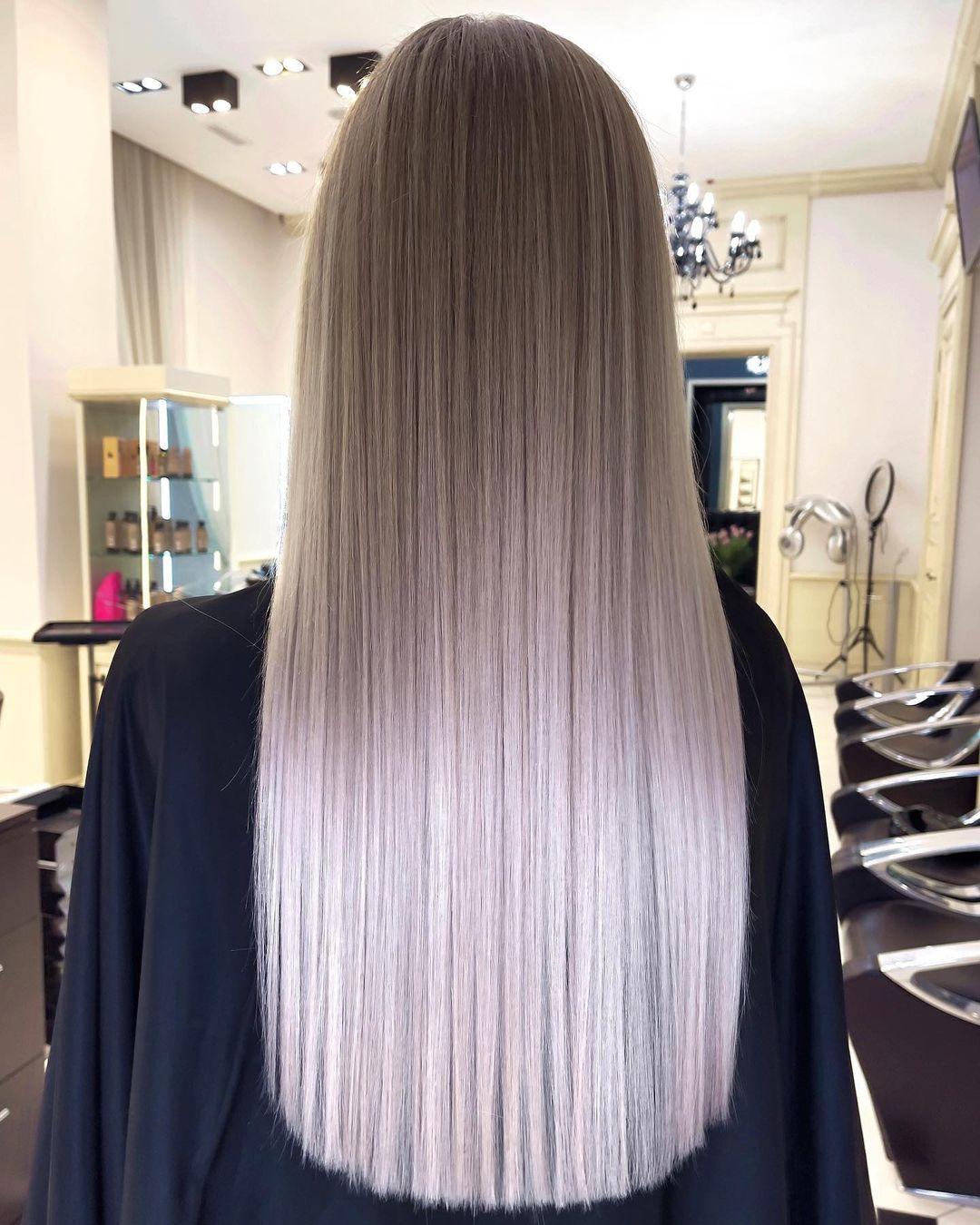 Design-Ideen für lange Haarfarben - Lange Frisuren und Haarschnitt 2021 -2022