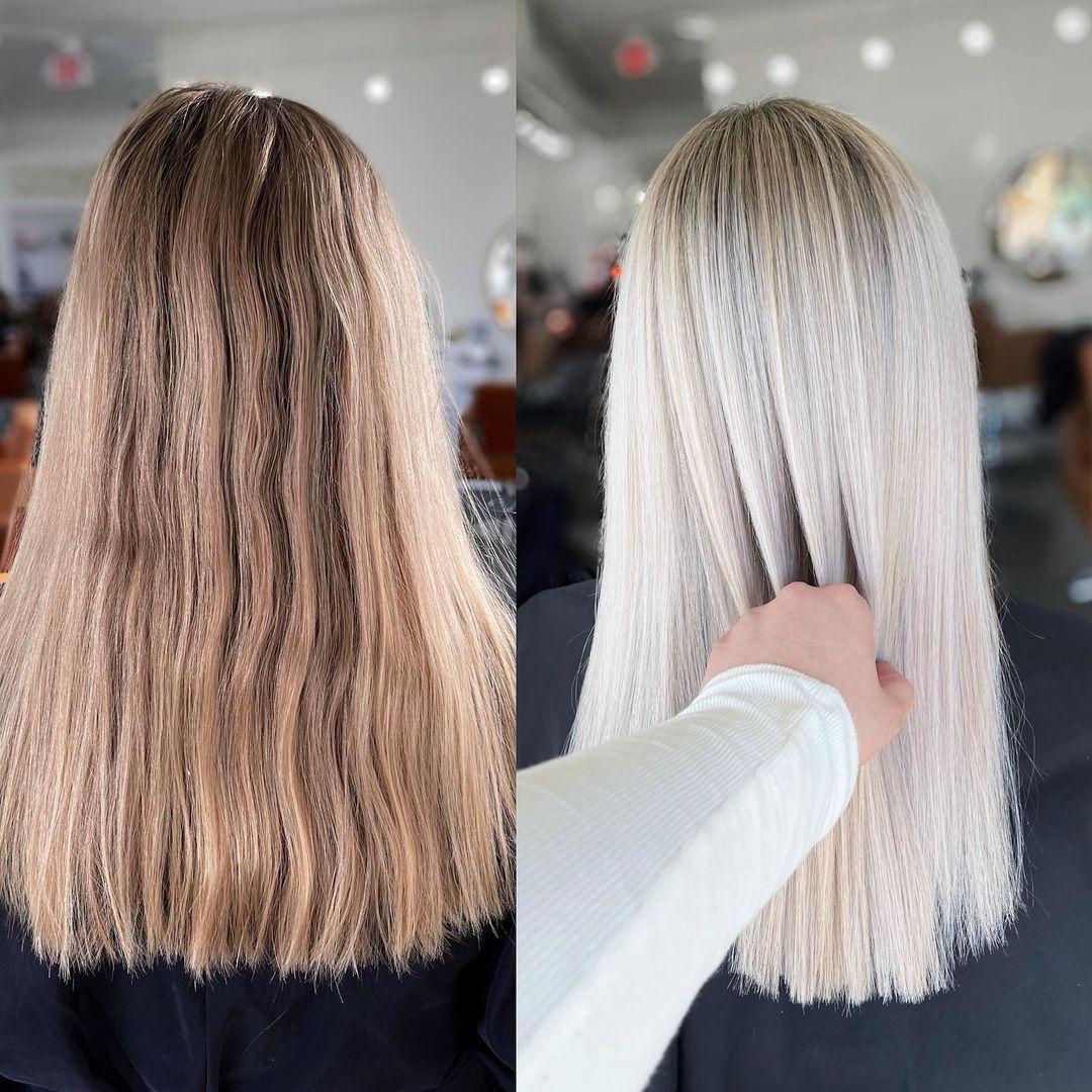 Kadınlar İçin Ombre Balayage Saç Kesimi Fikirleri - Orta ve Uzun Saç Rengi Tasarımları 2021 - 2022
