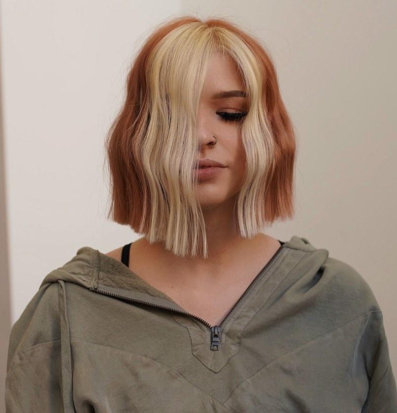 Kalın Saçlar İçin Şık Kısa Bob Saç Kesimi   Kadın Kısa Saç Fikirleri 2021 - 2022