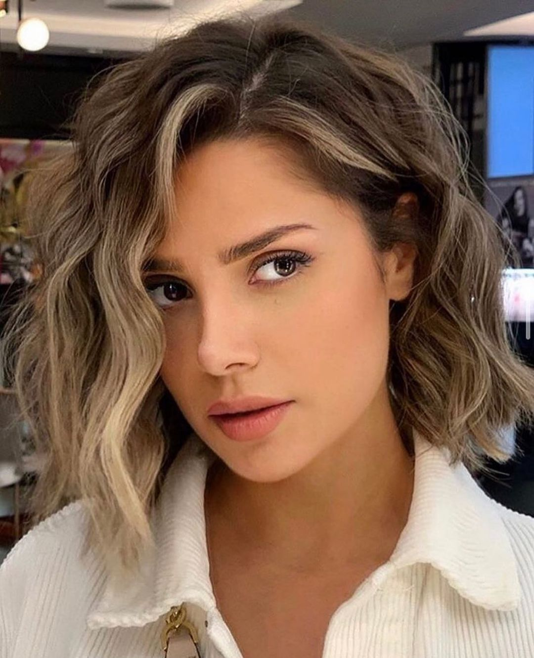 Trendy Lob Hairstyles for Thick Hair | Lob Hair Color 2021 - 2022
