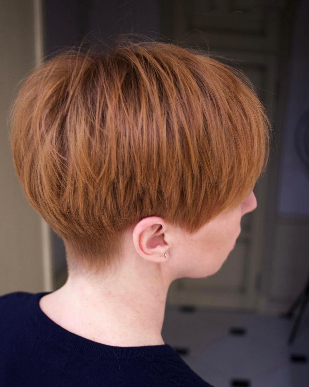 Easy Cute Pixie Bob Haircut - Frauen-Sommerfrisuren für kurzes Haar