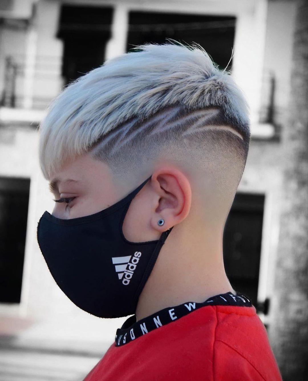 Fade Haircuts für Männer für kurzes Haar - Coole Männerfrisuren 2021
