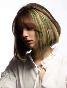 Pretty Short bob Hairstyles with Color - Short Haircut Designs for Women