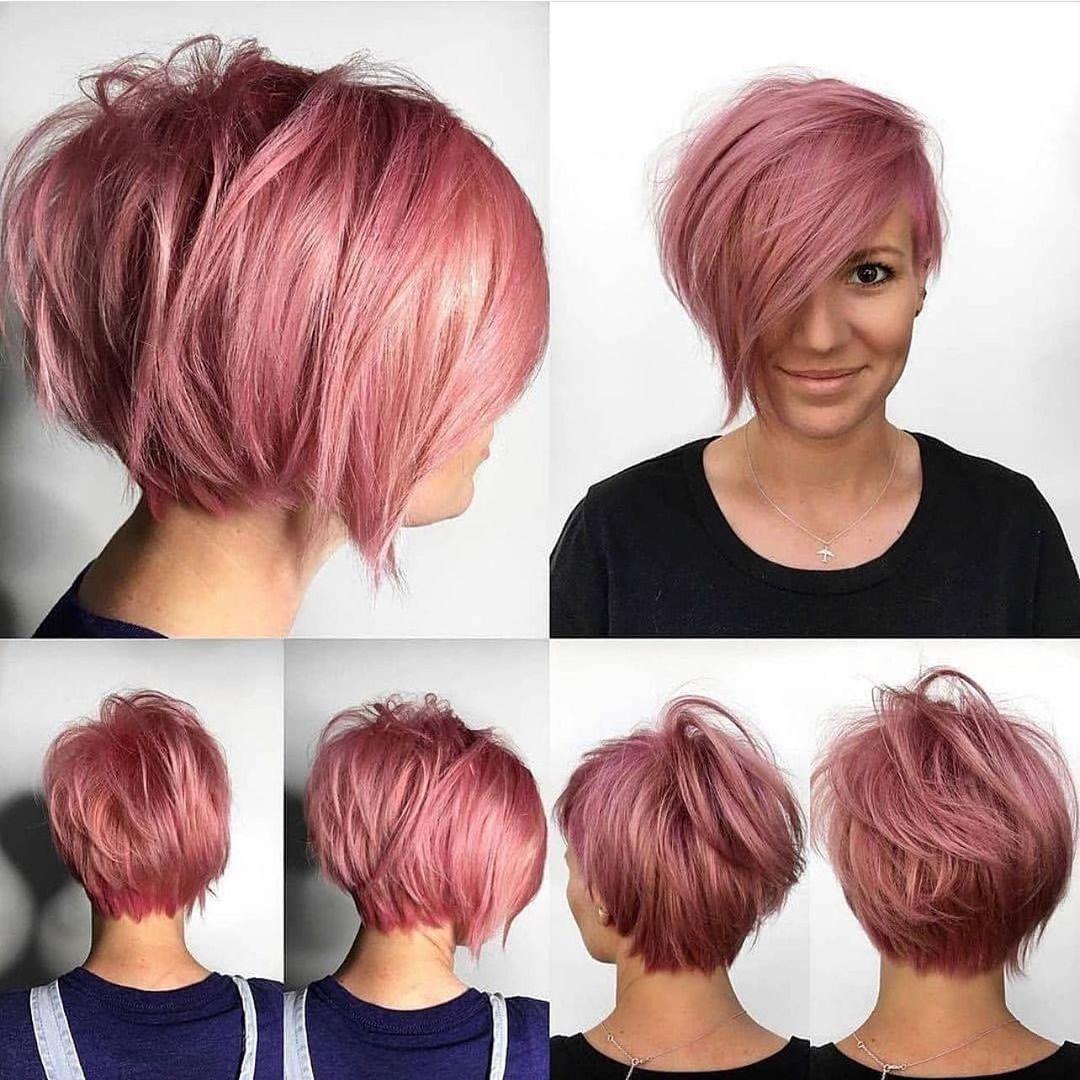 Stilvolle Frauenfrisuren für kurzes Haar – süße einfache kurze Haarschnitte