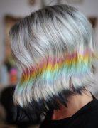 Easy Sleek Long Bob Hairstyles for Thick Hair - Women Bob Haircut Ideas