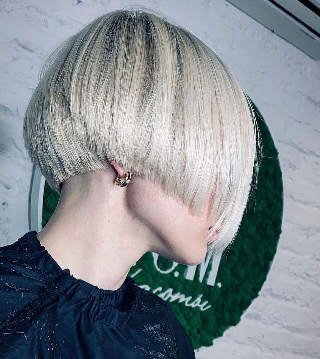 Stilvolle süße Bob-Haarschnitte mit kurzen Haaren - Frauen-Kurzhaar-Farbideen