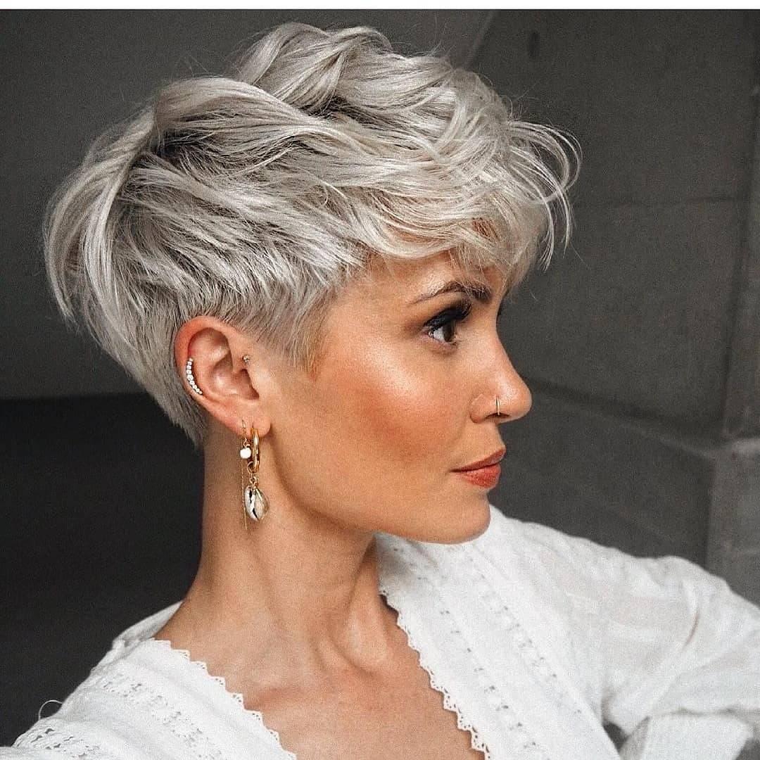 Women Shag Haircut Designs - Short Shaggy Haircuts