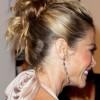 Denise Richards Chignon Hairstyles for Long Hair
