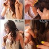 Messy Knot Hairstyle: Holidays Hairstyles Tutorials
