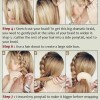 Holiday Hairstyles Tutorials: Braided Bun Updos