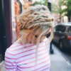 18 Cute And Comfortable Milkmaid Braid Designs