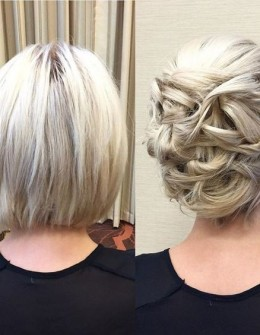 20 Gorgeous Prom Hairstyle Designs for Short Hair