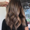 10 Medium Layered Hairstyles in Beige, Brown & Ash-Blonde Fashion Colors