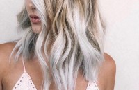 Medium to Long Hairstyles in Exciting Blonde Colors