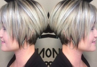 30 Trendy Stacked Hairstyles for Short Hair: Practicality Short Hair Cuts