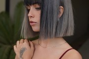 10 Stylish Short Bob Haircuts for Thick Hair in Freshest New Hair Colors!