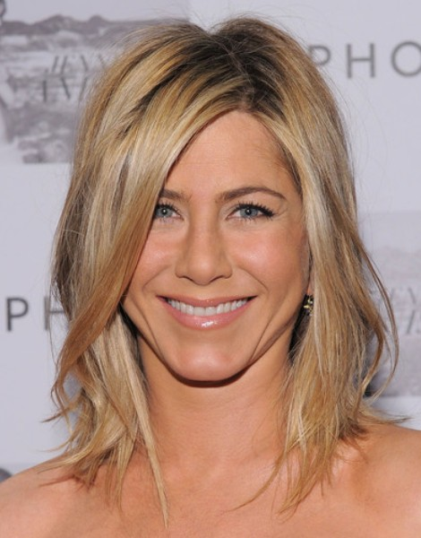 Celebrity Medium Layered Hairstyles 2012