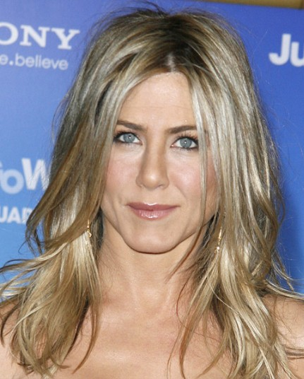 Jennifer Aniston Long Layered Hairstyles 2012