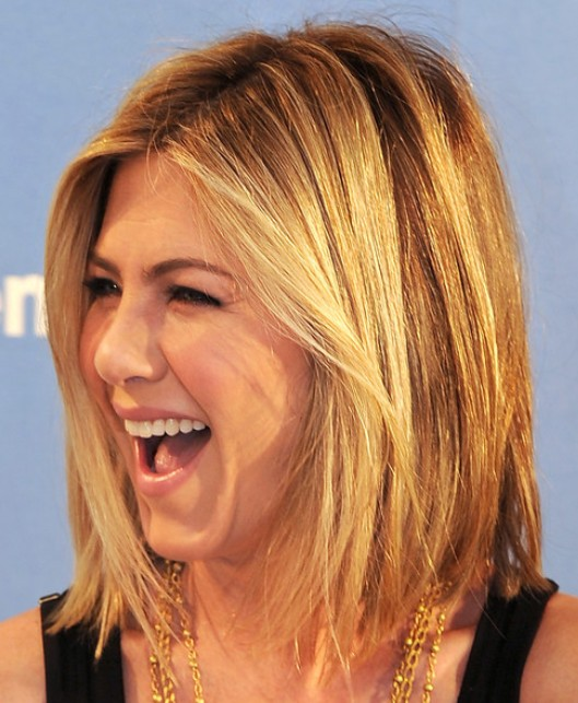 Medium Layered Bob Hairstyles 2012 Jennifer Aniston Medium Hairstyles ...