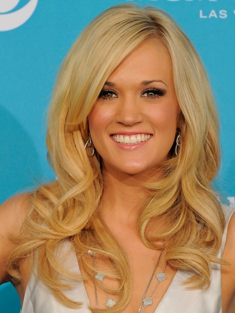 Blonde Long Layered Hairstyles 2012