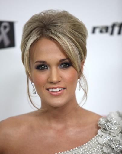 Carrie Underwood Beehive Hairstyles 2012