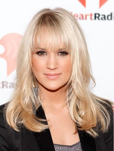 Carrie Underwood Hairstyles 2012