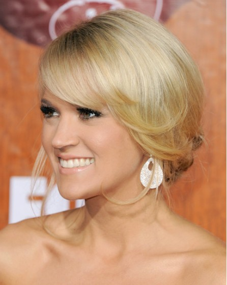 Carrie Underwood Updos 2012