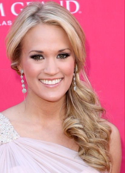 Side Ponytail Hairstyles 2012