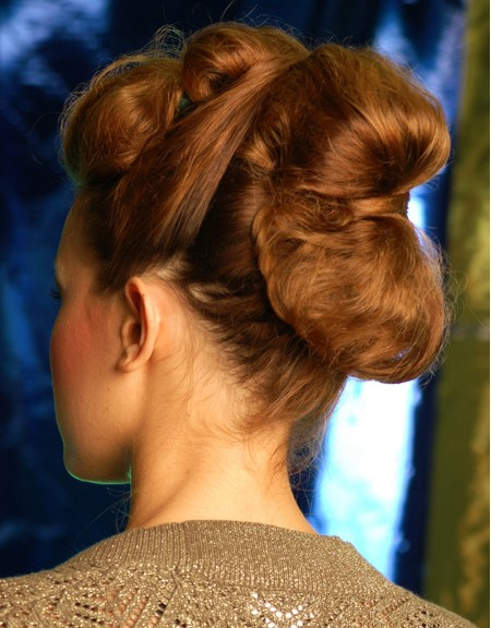 2012 Prom Updos Back View