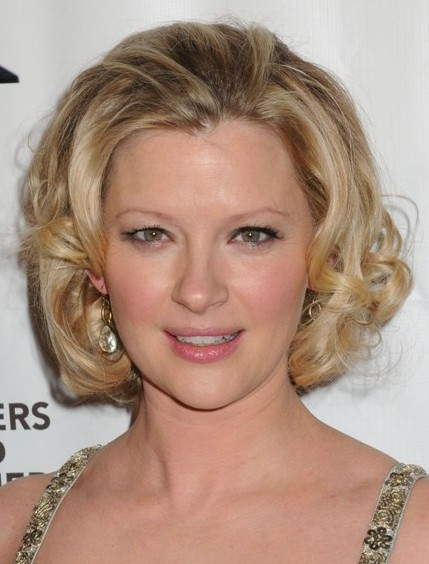 Gretchen Mol Short Curly Hairstyles