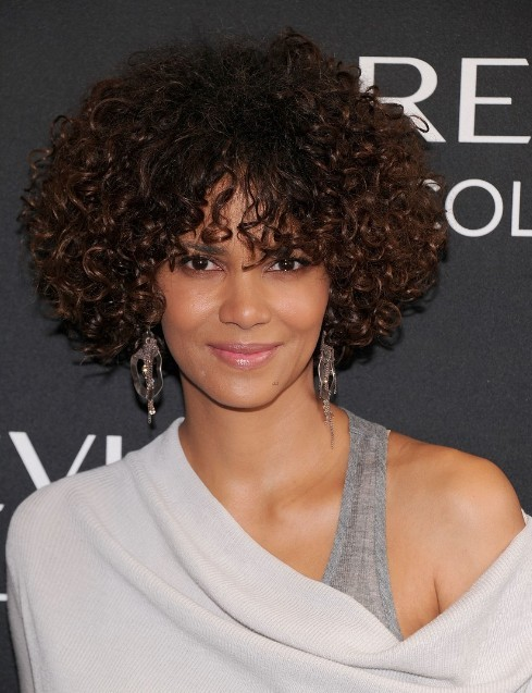 Halle Berry Curly Hairstyles