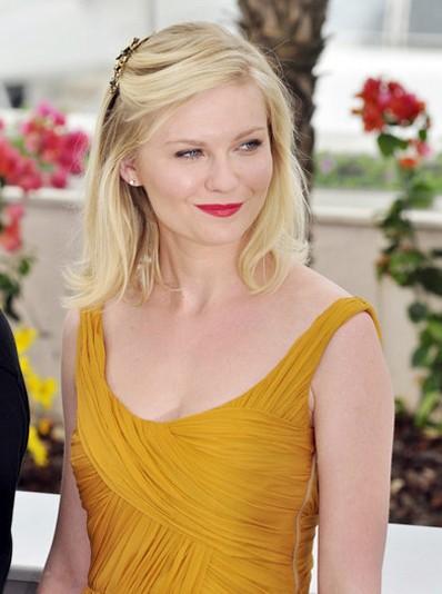 Kirsten Dunst Medium Hairstyles Popular Haircuts