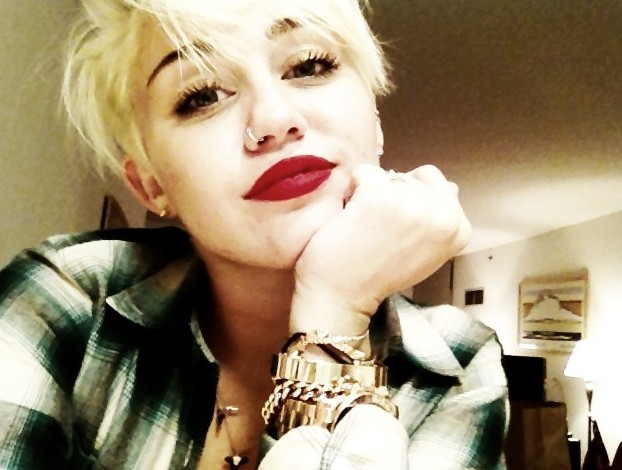 Miley Cyrus Latest New Hairstyles 2012