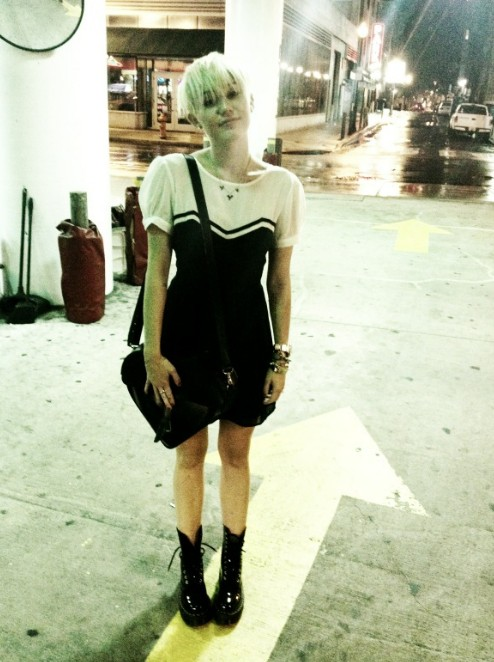 Miley Cyrus New Hairstyles 2012