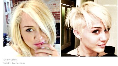 Miley Cyrus New Short Haircuts 2012 Popular Haircuts