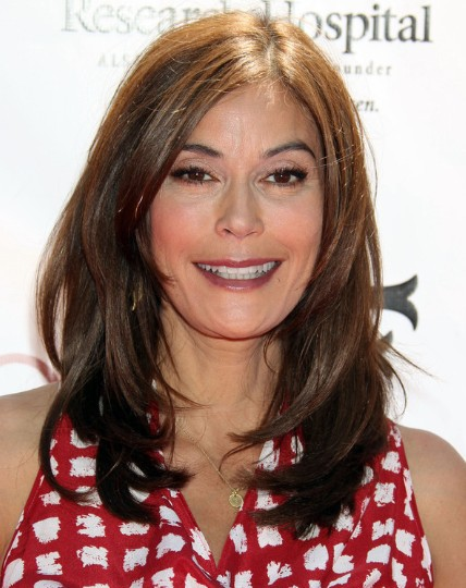 Teri Hatcher Haircut 2013