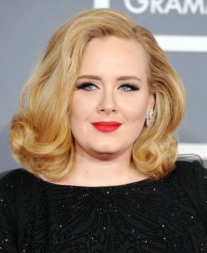 Adele Haircut on How To Styles  How To Get Hair Like Adele More  Adele Hairstyles