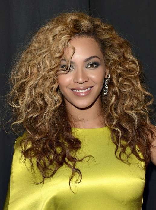 Beyonce Knowles Hairstyles 2013