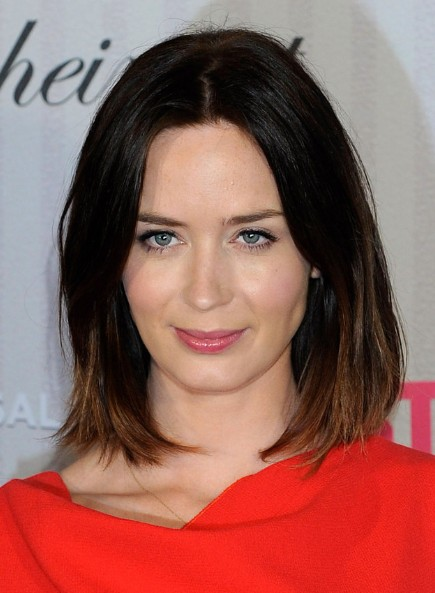 Emily Blunt Hairstyles 2013
